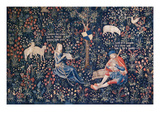 Tapestry of Shepherds Making Music Prints