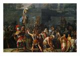 The Triumph of Aemilius Paulus, Kunstdruck von Carle Vernet