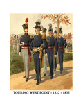 Touring West Point - 1832 - 1835 Print by Henry Alexander Ogden