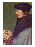 Erasmus of Rotterdam Prints by Hans Holbein the Younger
