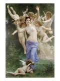 The Wasps Nest Prints by William Adolphe Bouguereau