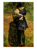 A Huguenot on St. Bartholomew&#39;s Day Posters by John Everett Millais