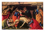 Passion of Christ Print by Sandro Botticelli