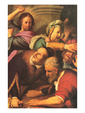 Christ Drives Out Money Changers Posters by  Rembrandt van Rijn