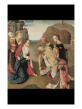 Depostion of Christ Print by  Meester