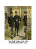 Tropical Wear - 1898 - 1900 - Spanish American War Print by Henry Alexander Ogden