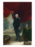 The Artist in His Museum Poster von Charles Wilson Peale