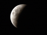 Paraguay Lunar Eclipse Photographic Print by Jorge Saenz