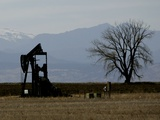 Oil Prices Photographic Print by Ed Andreiski
