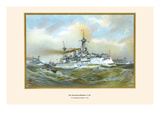 Brandenburg Squadron at Sea Prints by G. Arnold