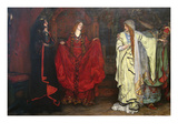 King Lear, Detail Prints by Edwin Austin Abbey