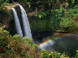 Wailua Falls Photographic Print by Jim Mone