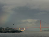 SF Rainbow Photographic Print by Ben Margot
