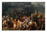 The Triumph of Aemilius Paulus, Kunstdrucke von Carle Vernet