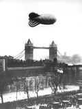 WWII Barrage Balloon London Photographic Print by  Anonymous