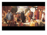 Captive Andromache Poster von Frederick Leighton