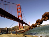 Golden Gate Bridge Photographic Print by Justin Sullivan