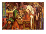 Tune of the Seven Towers Premium Giclee Print by Dante Gabriel Rossetti