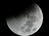 Mideast Lunar Eclipse Photographic Print by Lefteris Pitarakis
