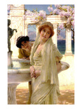 A Difference of Opinion Premium Giclee Print by Sir Lawrence Alma-Tadema