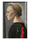 Portrait of a Woman Affischer av Paolo Uccello