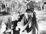 Vietnam War Ia Drang Wounded Photographic Print by Rick Merron