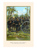 Von Clausewitz - Upper Silesian Cannon Drill of the 21st Field Artillery Prints by G. Arnold