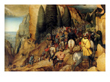Conversion of St.Paul - Complete Posters by Pieter Breughel the Elder