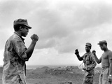 Vietnam War U.S. Black Power Photographic Print by  Johner
