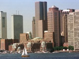 Boston Skyline Photographic Print by Michael Dwyer