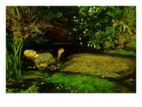 Oph&#233;lie Affiches par John Everett Millais