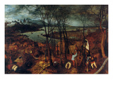 Beginning of Spring - Complete Posters by Pieter Breughel the Elder
