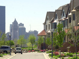 Pittsburgh Housing Photographic Print by Keith Srakocic