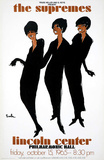 The Supremes, Lincoln Center Samlertryk af Joe Eula