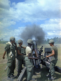Vietnam Op Attleboro 1966 Photographic Print by  Associated Press