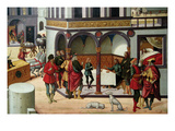 Story of Joseph Print by Biagio D'Antonio