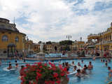 Travel Trip Budapest Baths Photographic Print by Carey J. Williams