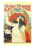 Bitter Oriental Posters by Alphonse Mucha