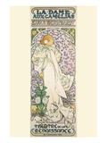 La Dame Aux Camelias Prints by Alphonse Mucha