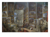 Ancient Rome Print by Giovanni Paolo Panini