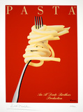 Pasta Collectable Print by Razzia 