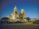 Travel Trip Arizona Mission Restoration Photographic Print