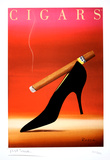 Cigars Collectable Print by  Razzia