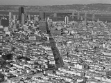 San Francisco Aerial 1973 Photographic Print by Sal Veder