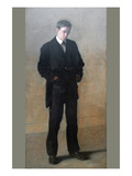 The Thinker - Louis N. Kenton Premium Giclee Print by Thomas Cowperthwait Eakins