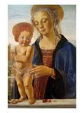 Madonna med barnet Plakater af Andrea del Verrocchio