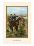 Schleswig-Holstein Military Train - 9th Battalion Prints by G. Arnold