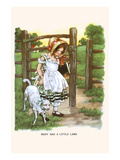 Mary Had a Litte Lamb Prints by  Bird & Haumann