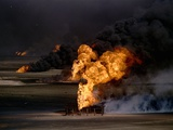 Gulf War Photographic Print by Greg Gibson