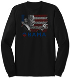 Long Sleeve: President Barack Obama T-paidat
